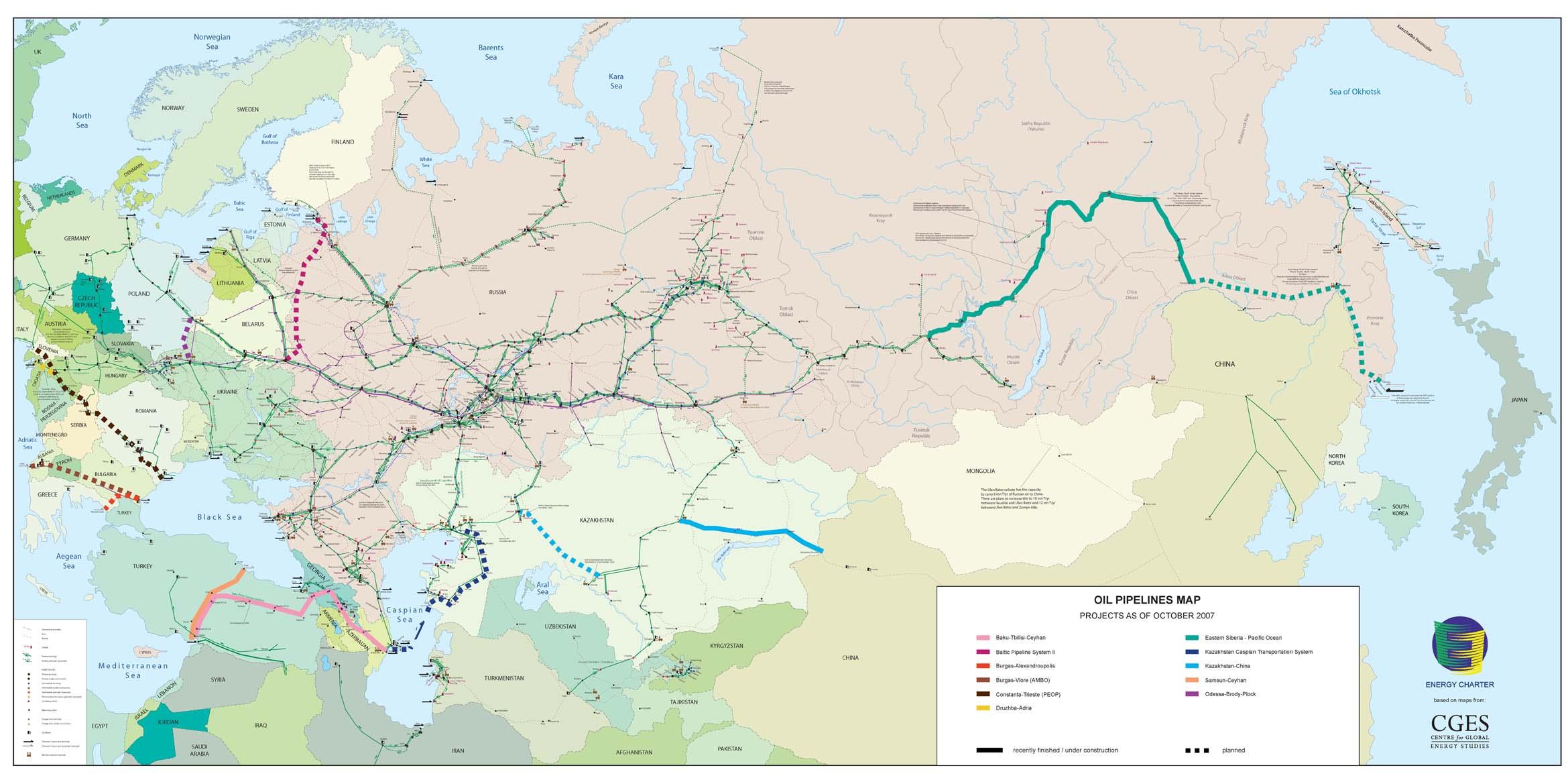 Нефтепровод дружба на карте россии схема
