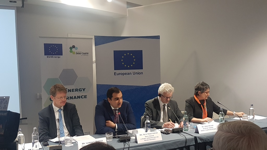 EU4Energy High-level Conference on Energy Efficiency in Armenia