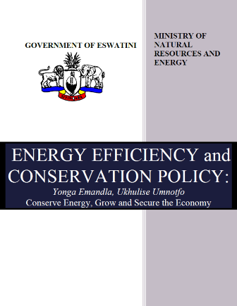 Energy Efficiency in Eswatini - Energy Charter